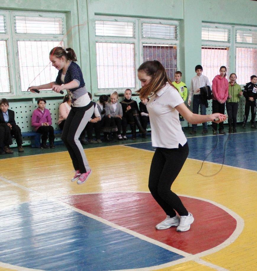 В школе № 40 Днепродзержинска состоялись соревнования «Спортивная пара», фото-4
