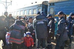 До Львова приїхало 29 переселенців з Донецької області (ФОТО), фото-1