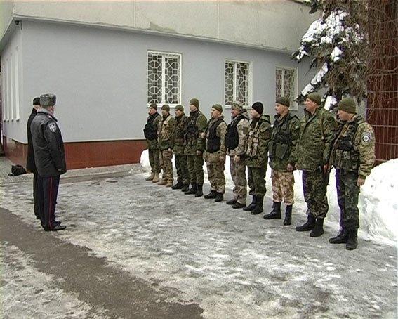 Сумские милиционеры направились в зону АТО (фото) - фото 1