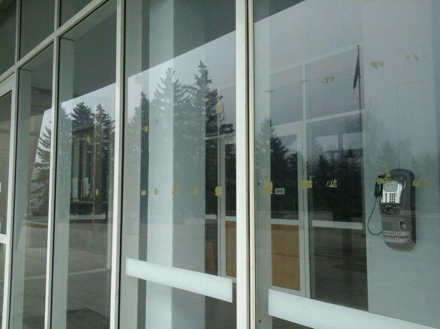Под  Криворожским горисполкомом убрали палатки протестующих (ФОТО) (фото) - фото 1