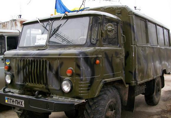 На Кировоградщине для 34-го батальона восстановлен ГАЗ-66 (фото) - фото 1