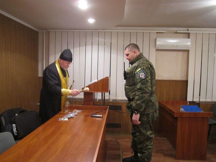 7 Днепродзержинских милиционеров уехали в зону АТО, фото-2