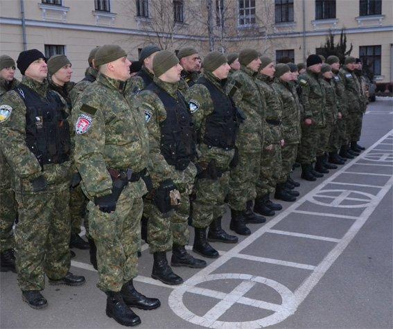 Сводный отряд УМВД Кировоградщины отправился в зону АТО на смену коллегам (фото) - фото 1