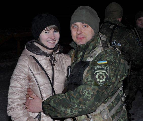 Правоохранители Сумщины выехали в зону проведения АТО (ФОТО) (фото) - фото 1