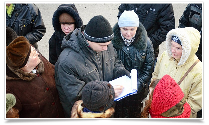 В Славянске на Вече, зачитали письмо к Надежде Савченко от горожан (фото) - фото 1