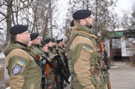 Николаевский спецназ сменил на «передовой» своих товарищей (ФОТО) (фото) - фото 1