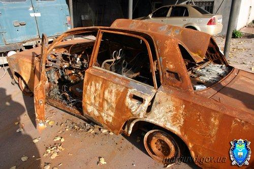 20-летний мариуполец угнал и сжег чужой автомобиль в Сартане (ФОТО), фото-3
