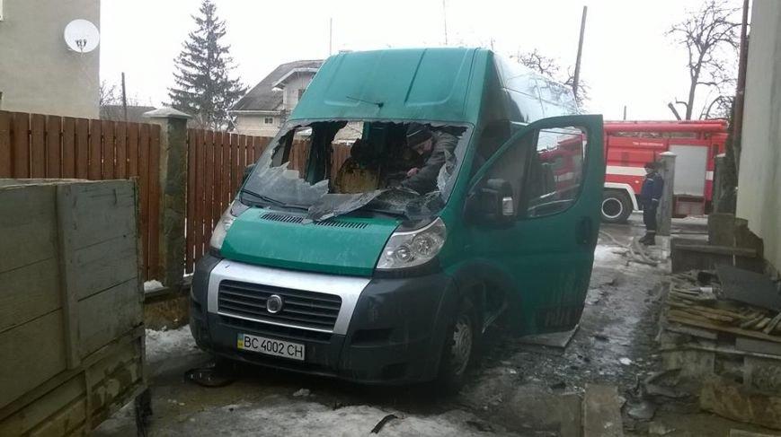 На Львівщині ледь не згоріла вантажівка (ФОТОРЕПОРТАЖ), фото-2