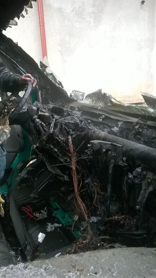 На Львівщині ледь не згоріла вантажівка (ФОТОРЕПОРТАЖ), фото-4