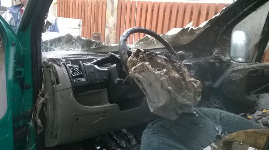 На Львівщині ледь не згоріла вантажівка (ФОТОРЕПОРТАЖ), фото-1