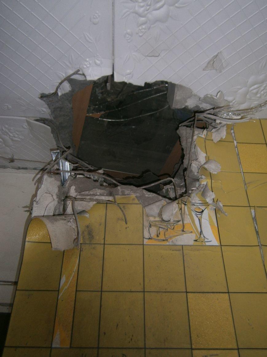 В Горняке восстанавливают пострадавшие постройки (ФОТОРЕПОРТАЖ) (фото) - фото 11