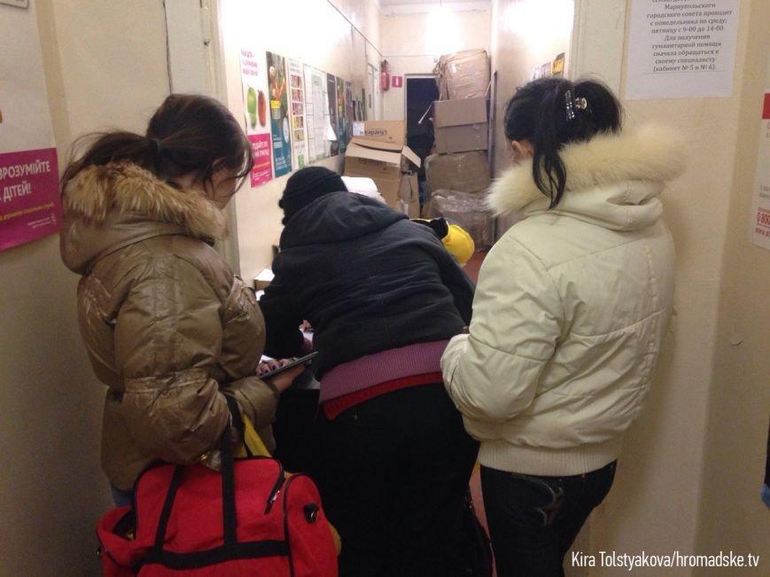 В Мариуполе зарегистрировано около 2 тысяч переселенцев из Широкино (ФОТО) (фото) - фото 1