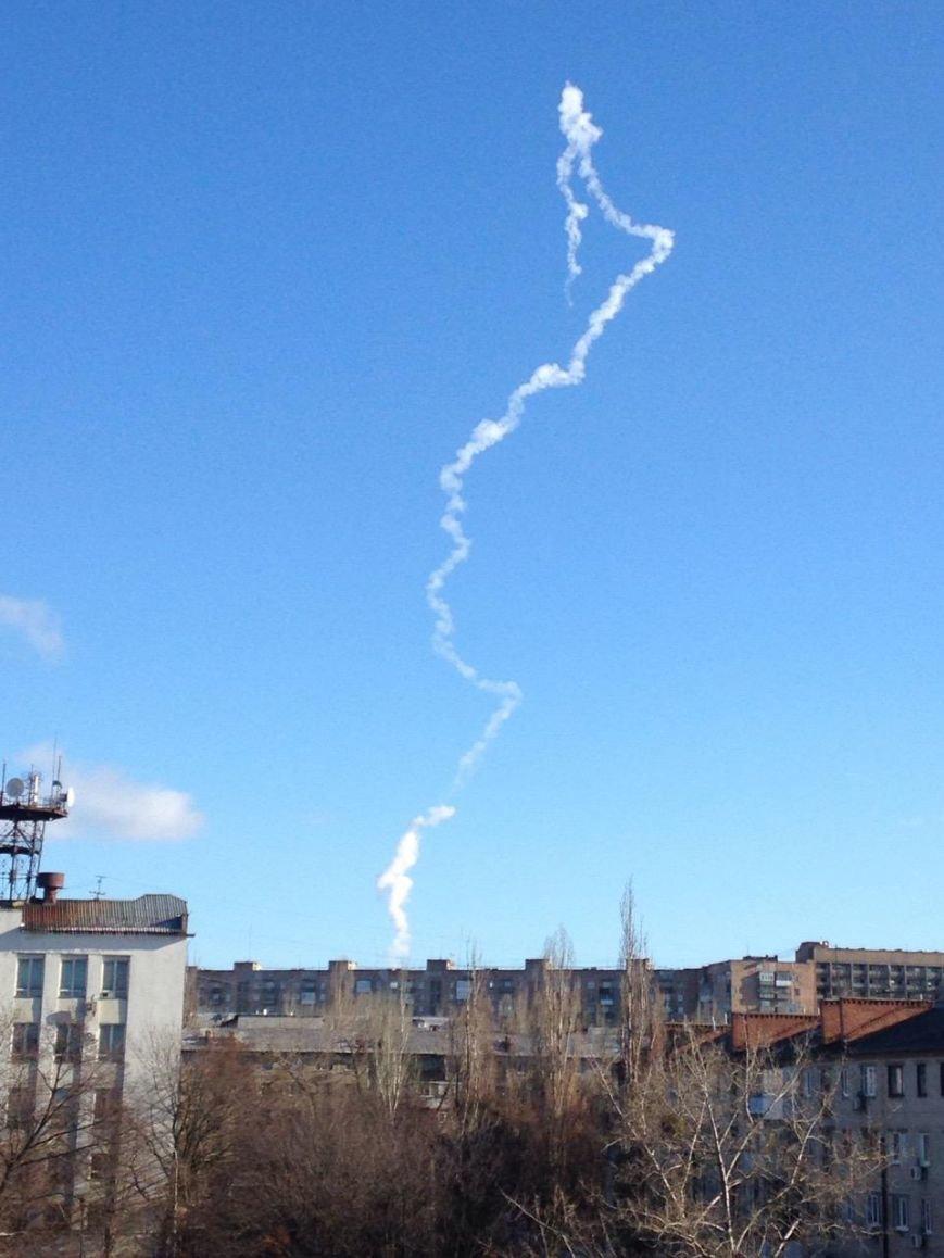 ШТАБ АТО: Гул в небе - плановая отработка (фото) - фото 1