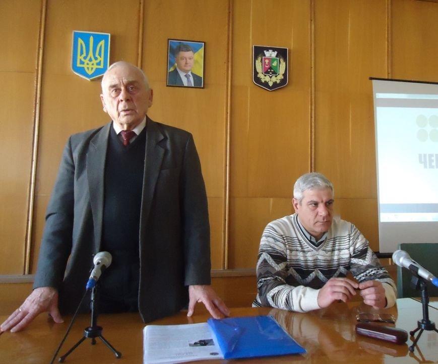 В Бериславе обучали действиям во время чрезвычайных ситуаций. Пока только чиновников. (фото) - фото 3