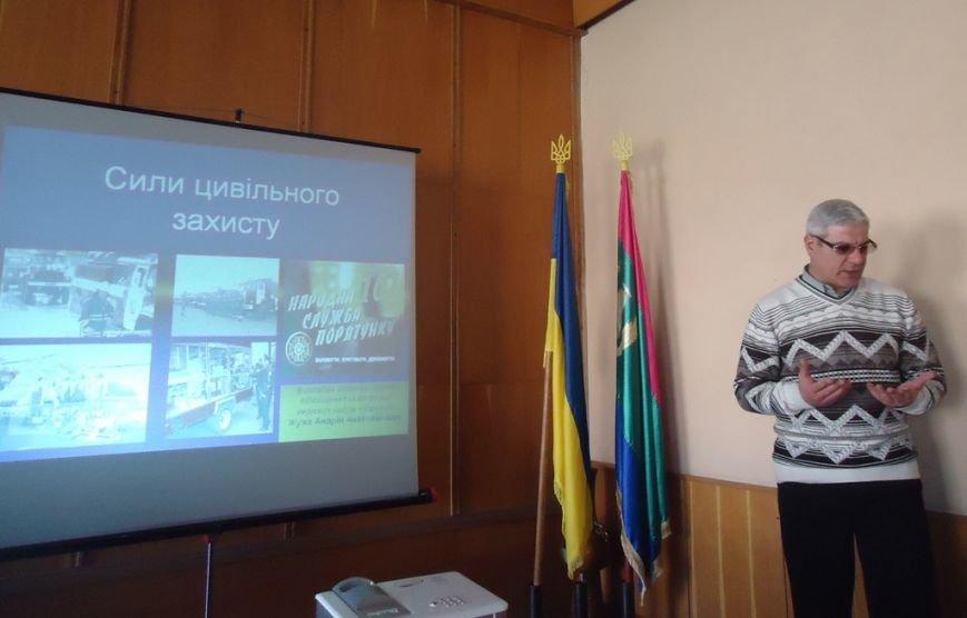 В Бериславе обучали действиям во время чрезвычайных ситуаций. Пока только чиновников. (фото) - фото 2
