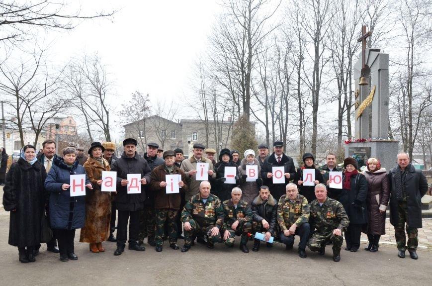 Воїни-афганці з буковинського Сторожинця висловили підтримку Надії Савченко (фото) - фото 1