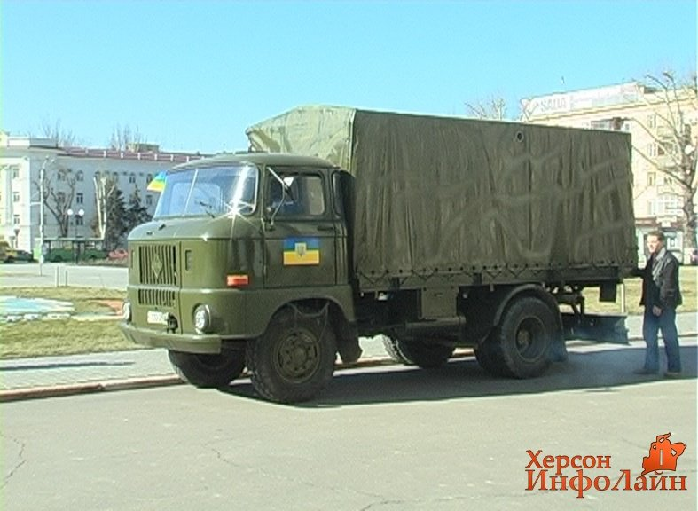 Волонтеры передали батальону «Сармат» в Мариуполь передвижную баню (ФОТО) (фото) - фото 1