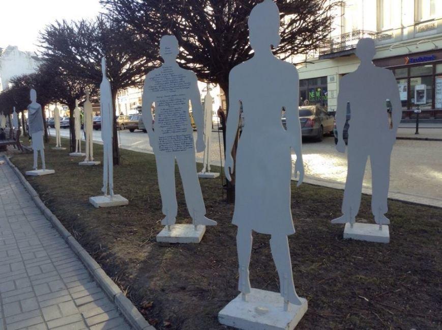 У центрі Львова «невидимі» розповіли про свою важку долю у рабстві (ФОТОРЕПОРТАЖ), фото-1