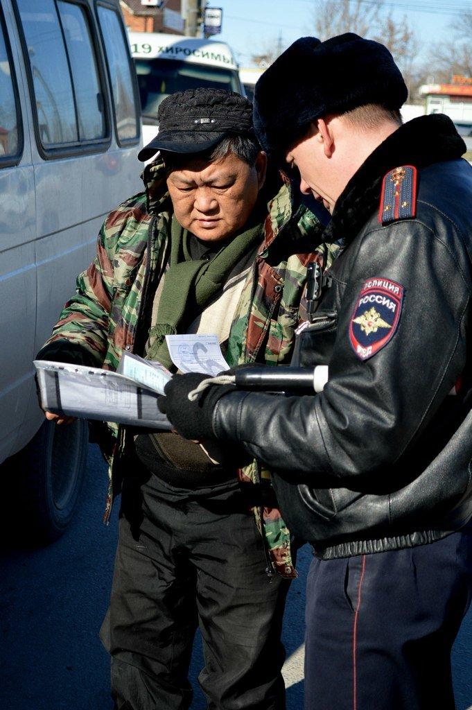 В Волгограде состоялся очередной рейд по состоянию маршруток (фото) - фото 3