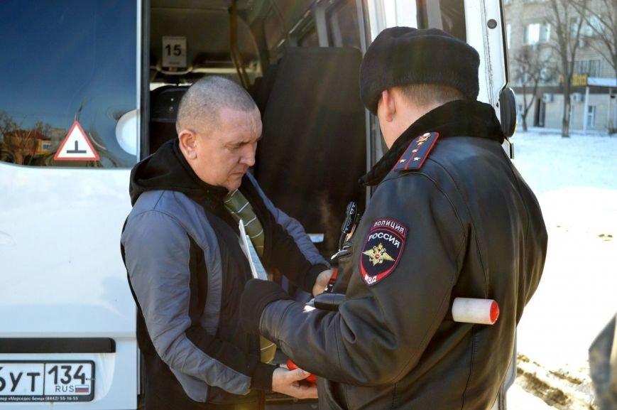 В Волгограде состоялся очередной рейд по состоянию маршруток (фото) - фото 1