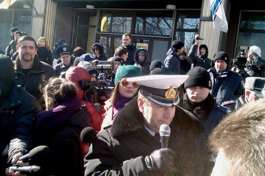 Евромайдан в Одессе с антипрезидентскими лозунгами требовал навести порядок в АТО (ФОТО, ВИДЕО) (фото) - фото 2
