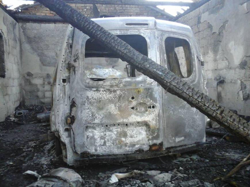 На Львівщині вщент згорів автомобіль (ФОТО), фото-1