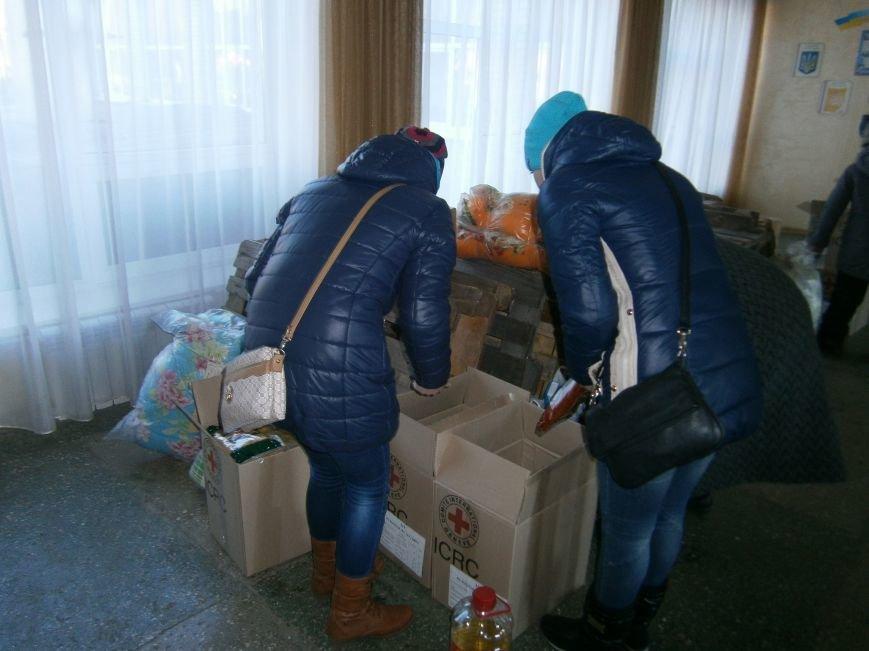 Димитров получил 10 тонн гуманитарной помощи для переселенцев (ФОТОРЕПОРТАЖ) (фото) - фото 22