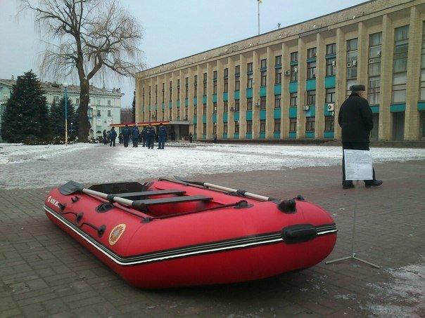 Днепродзержинск демонстрирует возможности по ликвидации чрезвычайных ситуаций (фото) - фото 5