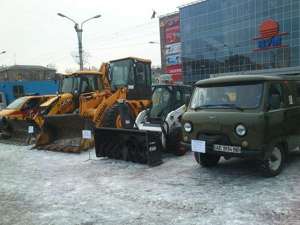 Днепродзержинск демонстрирует возможности по ликвидации чрезвычайных ситуаций (фото) - фото 1