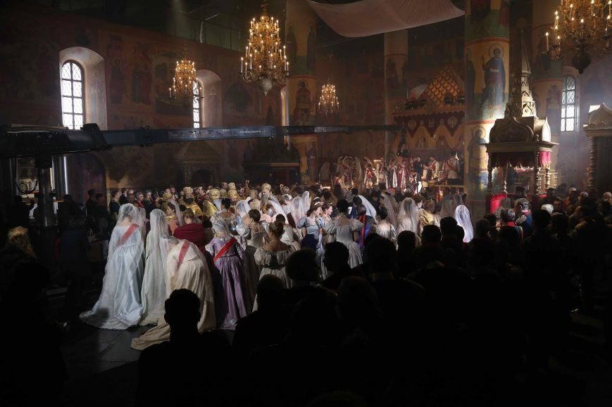 В Петербурге прошли масштабные съемки сцены коронации императора Николая II (фото) - фото 1