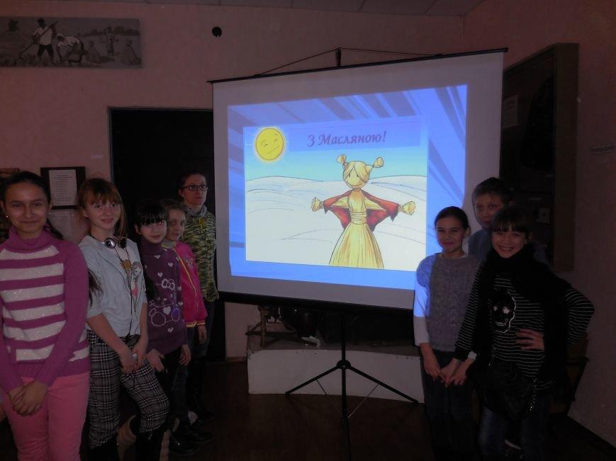 В Красноармейском историческом музее детям рассказали о Масленице (фото) - фото 1