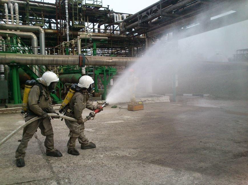В Днепродзержинске ликвидировали последствия условного теракта и утечку опасных веществ, фото-7