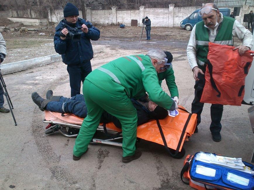 В Днепродзержинске ликвидировали последствия условного теракта и утечку опасных веществ, фото-13