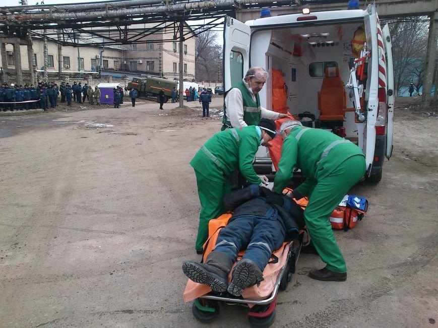 В Днепродзержинске ликвидировали последствия условного теракта и утечку опасных веществ, фото-14