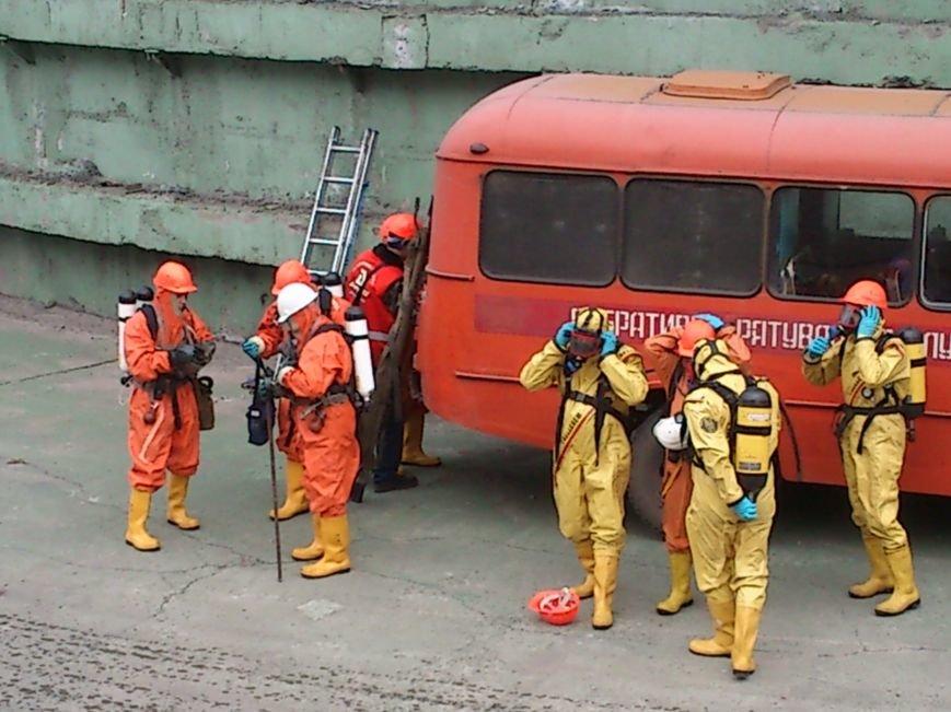 В Днепродзержинске ликвидировали последствия условного теракта и утечку опасных веществ, фото-2