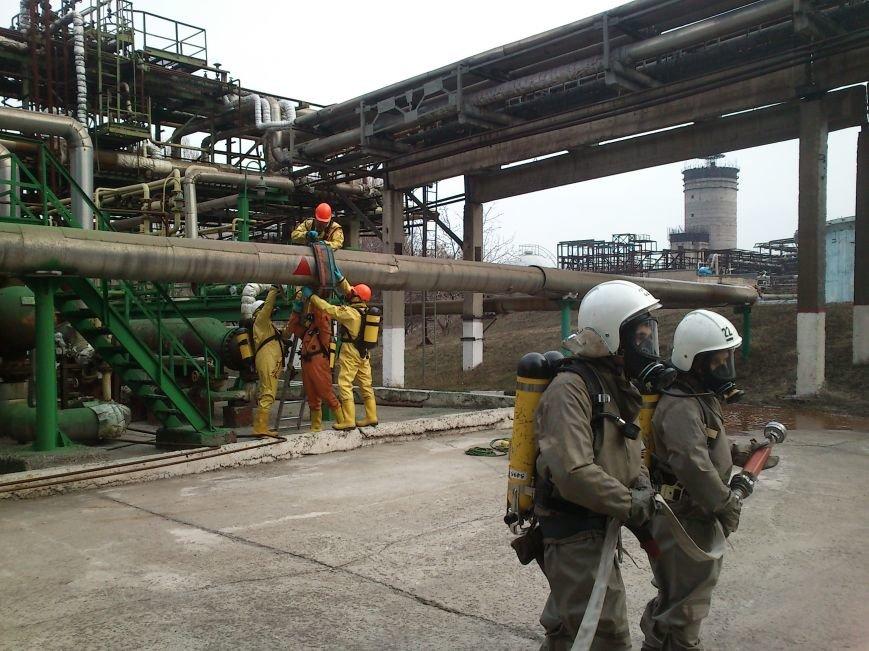В Днепродзержинске ликвидировали последствия условного теракта и утечку опасных веществ, фото-6