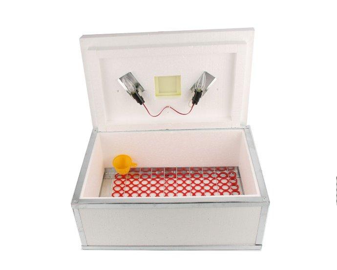 Инкубатор для яиц Наседка ИБМ-100 с механическим переворотом и цифровым терморегулятором