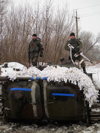 Стали известны подробности выхода черниговцев из Дебальцевский котла (фото) - фото 2