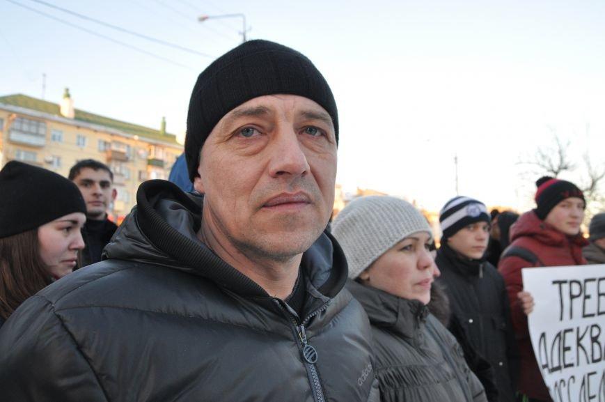 Друзья и родственники погибшего в аварии белгородца вышли на улицу, взывая к справедливости, фото-3