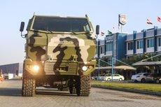 На выставке Абу-Даби КрАЗ представит свои новинки - KrAZ-Feona и KrAZ-Hurricane, фото-1