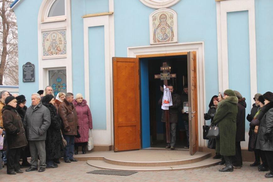Сотни криворожан пришли проститься с Сергеем Галибиным (ФОТО), фото-6