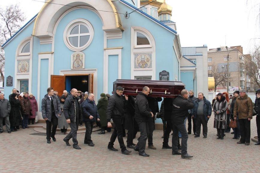 Сотни криворожан пришли проститься с Сергеем Галибиным (ФОТО), фото-10