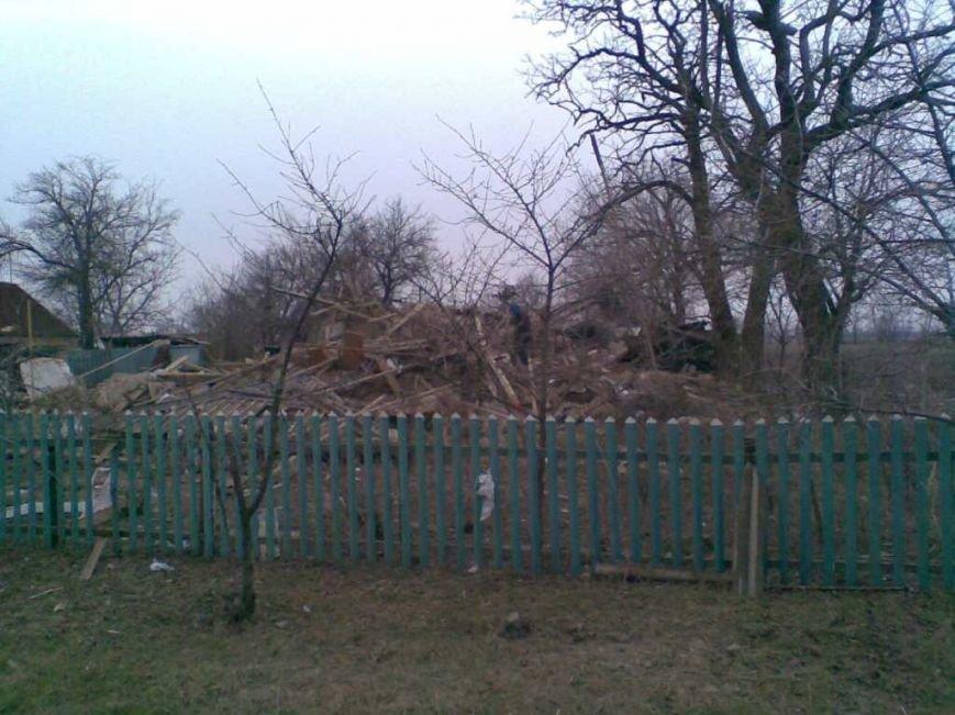 В Запорожской области взрыв газа в щепки разнес дом (ФОТО) (фото) - фото 2