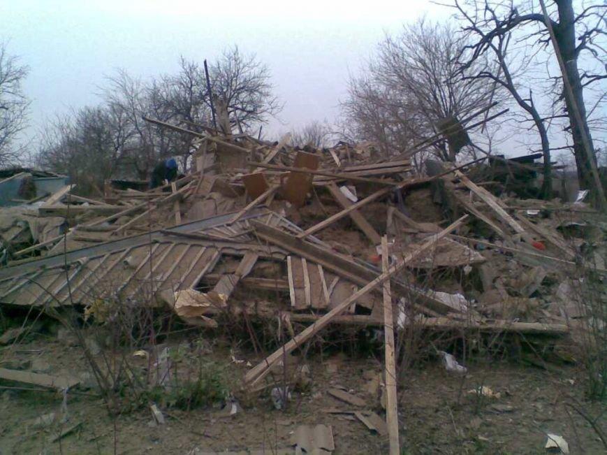 В Запорожской области взрыв газа в щепки разнес дом (ФОТО) (фото) - фото 1