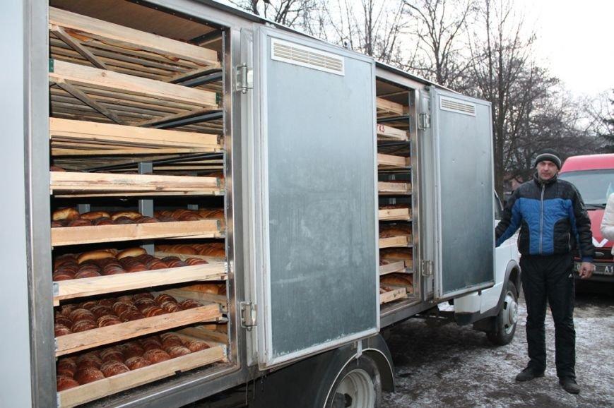 Украинские военные в Артемовске получили продовольствие и предметы первой необходимости, фото-2