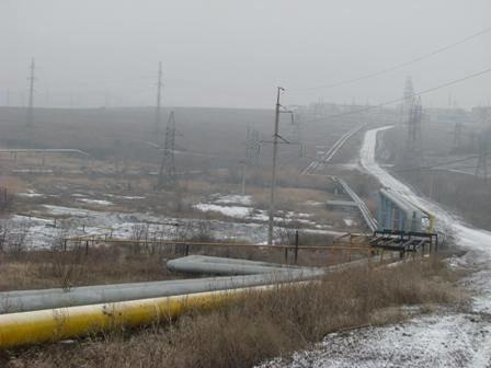 Что осталось от газовой трубы, обстрелянной под Донецком (ФОТО), фото-2