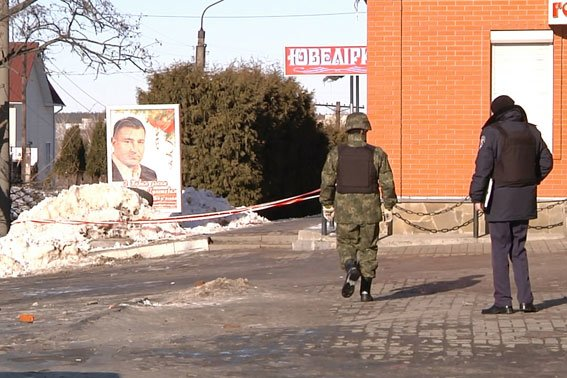 На рынке в Черниговской области нашли гранату, завернутую в газету (фото) - фото 1