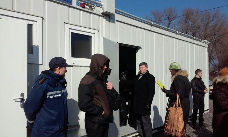 В Кривом Роге открылся модульный городок, рассчитанный на 424 вынужденных переселенца (ФОТО) (фото) - фото 1