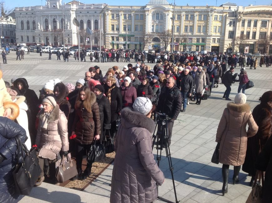 В Харькове почтили память Героев Небесной Сотни (ФОТО), фото-6