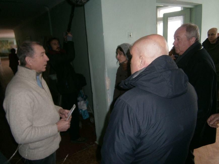Губернатор области посетил центр размещения переселенцев в Добропольском районе (фото) - фото 27